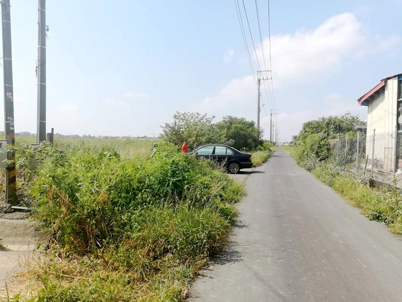 學甲段優質双面路農地,台南市學甲區學甲段