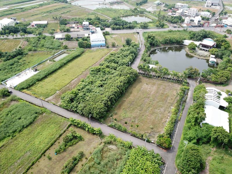 臨大路元寶湖前美農地,台南市七股區三合段