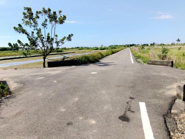 三合段朝南大面寬美田,台南市七股區三合段