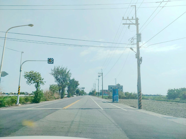 一分農保前後路田,台南市將軍區將軍段
